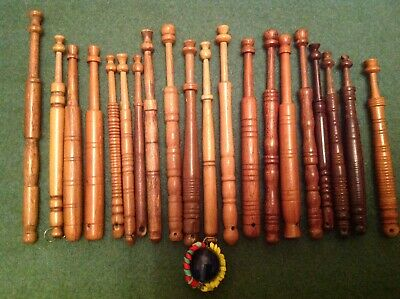 20 Wooden Lace Bobbins Free Postage