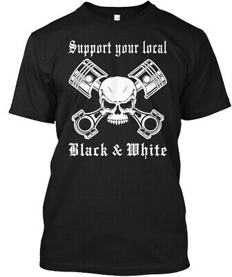 Support Your Local White Boy Red /& White Patch.