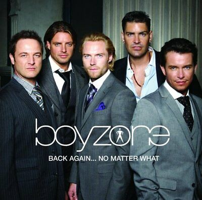 Boyzone - Back Again...No Matter What (The Greatest Hits) - UK CD album 2008