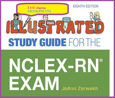 🔥  Illustrated Study Guide for the NCLEX-RN Exam 8th ed 🔥PDFonly 🔥 FAST deliv