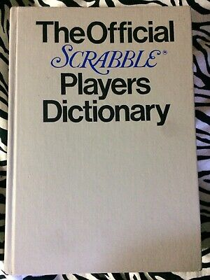 The Official Scrabble Players Dictionary Hardback Book First Edition 1978