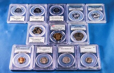 PCGS Coin Lot (Silver Quarters, FB Dime, Dollars, More!)
