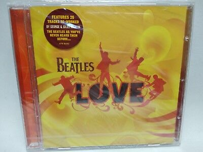 The Beatles Love Cd Audio Nuevo Y Precintado