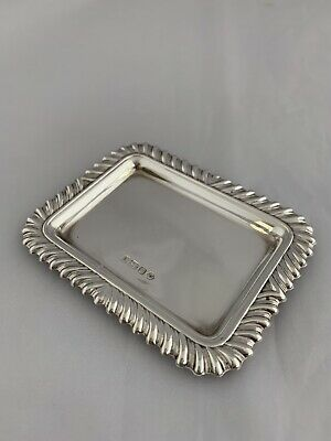 Small Sterling Silver Ring Or Jewellery Dish 1998 Sheffield CARRS OF SHEFFIELD