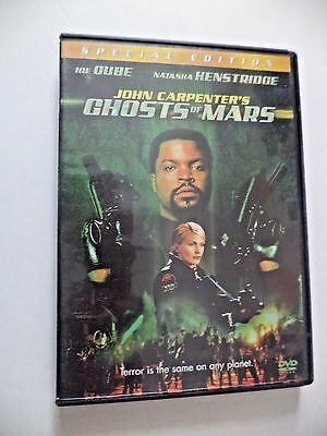 John Carpenters Ghosts of Mars -widescreen DVD 2001 Special Edition
