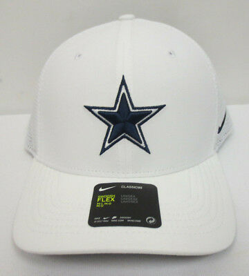 d5057db6e Dallas Cowboys Hat Cap Nike Classic99 Swoosh Flex Mens Nfl Mesh M/L Fit New