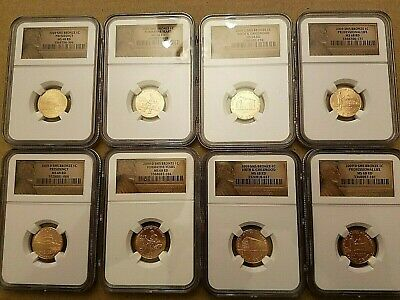 2009 Complete P & D Lincoln Cent Bicentennial 8-Coins NGC MS68 RD Set (SALE)