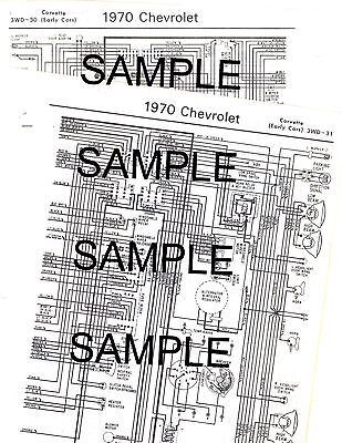 PONTIAC 1965 TEMPEST & GTO Wiring Diagram 65 - $12.99 | PicClick on 1970 chevy truck wiring schematic, 1970 plymouth satellite wiring schematic, 1970 buick skylark wiring schematic,