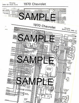 1973 Ford Thunderbird 73 Ford Motor Company Wiring Guide Diagram Chart 10 26 Picclick Uk