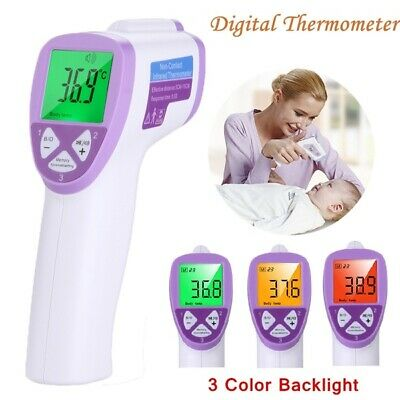 Non-contact Digital Baby Kid Adult Body IR Infrared Temperature Thermometer AU