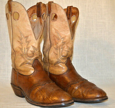 00164a5d414 MENS BOULET COWBOY Leather Boots Made in Canada - Size 12 - $40.00 ...