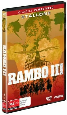 Rambo - First Blood III (DVD, 2019) (Region 4) New Release