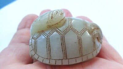 Old Chinese Jade Figure Ornament  C4912