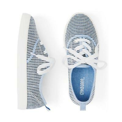 NWT Gymboree True Blue Summer Girls Striped Sneakers Shoes kid and toddler sizes