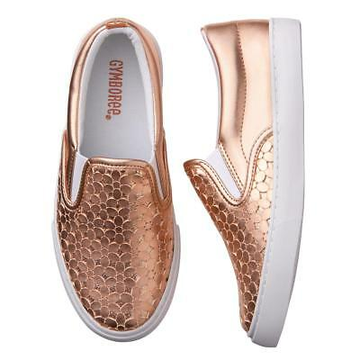 NWT Gymboree Spring Forward Girls Gold Sneakers Shoes Toddler and kid girls