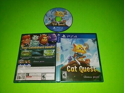 Cat Quest PlayStation 4 PS4 TESTED LIKE NEW w CASE BOX RPG Action Adventure