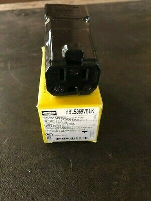 Hubbell HBL5969VBLK wiring connectors NEW