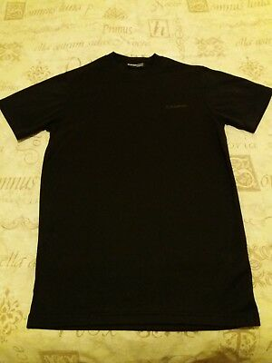 Campri Sports Baselayer Black Top Mens Small