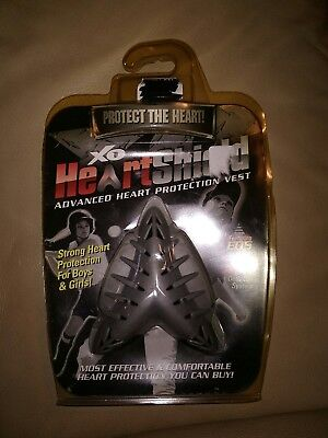 X-Large Shock Doctor Youth XO HeartShield Protector White BN