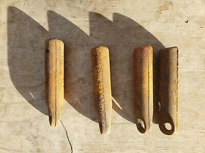 Lot of 4 Cast Iron Sash Window Weights 3 lbs Free Priority Mail Shipping