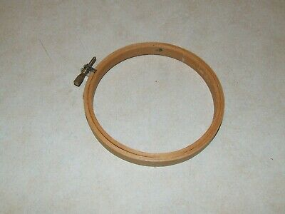 """Wooden Embroidery Hoop - 100mm - 4"""""""