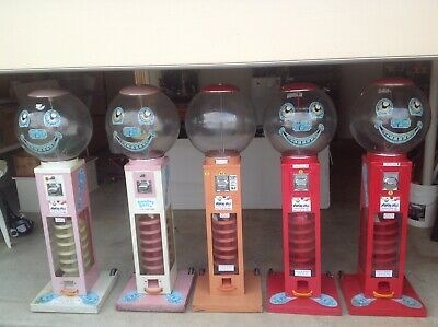 5 x Bouncing Ball or Round Capsule Vending Machine