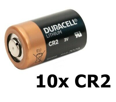 AU NK050-10x Duracell CR2 Ultra lithium battery 10 Pieces