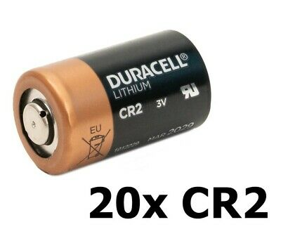 AU NK050-20x Duracell CR2 Ultra lithium battery 20 Pieces