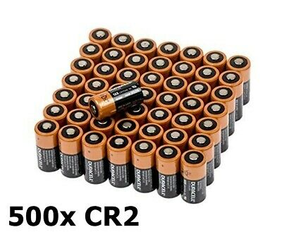 AU NK050-500x Duracell CR2 Ultra lithium battery 500 Pieces