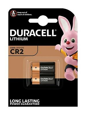 AU BS069-1x Duracell CR2 Lithium battery - Blister of 2 pieces 1x Blister