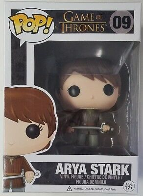 Funko POP Arya Stark #09 Game of Thrones Vinyl Figure - Maisie Williams