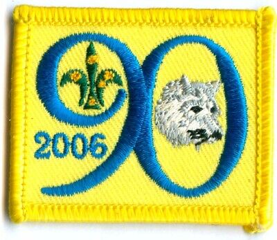 Australian Boy Scout 2006 90Th Anniversary Of Wolf Cubs Badge