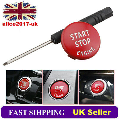 START STOP ENGINE Button Switch Cover for BMW X1 X5 X6 3 5 Series E90 E91  E92
