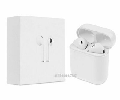NEW Premium For Apple Style Wireless Earbuds with Charging Case Headphones TWS