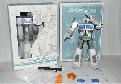 New Transformes Magic Squaer TOYS MS-01W White Optimus Prime Figure In Stock