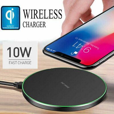 Fast Qi Sans Fil Chargeur Charging Dock pour Huawei MATE 20 Pro iPhone SamsungS9