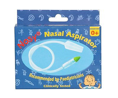 Nosy Baby Nasal Aspirator Nose Cleaner Snotsucker with soft nose cold flu