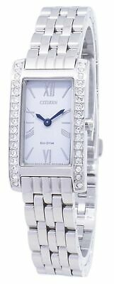Citizen Eco-Drive EX1470-86A Diamond Accents Analog Women's Watch