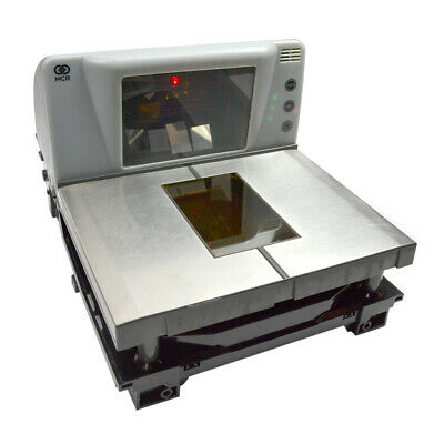 NCR Class 7874 Model 3001 RealScan Bi-Optic Horizontal/Vertical Scanner / Scale