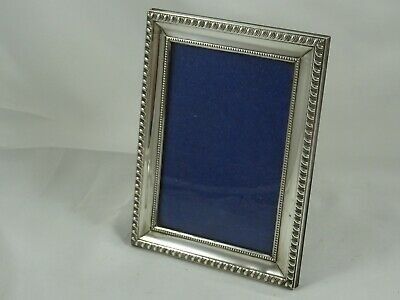 SOLID silver PICTURE FRAME, 1983