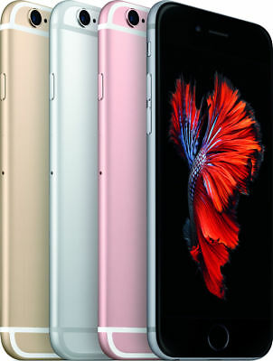 Apple iPhone 6s 16GB 32GB 64GB 128GB Grey Silver Gold Rose Smartphone ABC
