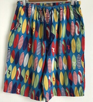Peter Alexander Men's Surf Board PJ Shorts. Size Large. Collect Or Post