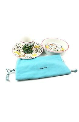 Tiffany & Co Set Servizio Playground Made In Japan 1992 Ceramic Tazza Plate Cup