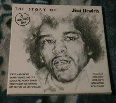 The Story Of Jimi Hendrix  Uk 6Lp Boxset Babylon Budget