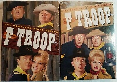 F Troop Season 1 & 2 (Complete Series) DVD TV Shows Forrest Tucker BRAND NEW