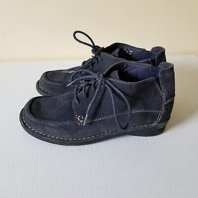 WOMEN'S CLARKS LACE Up Shoes Dark Brown Soft Size 6.5 D