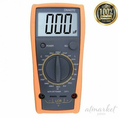 AideTek LCR meter DM4070 Large LCD display Inductance Capacitance from JAPAN