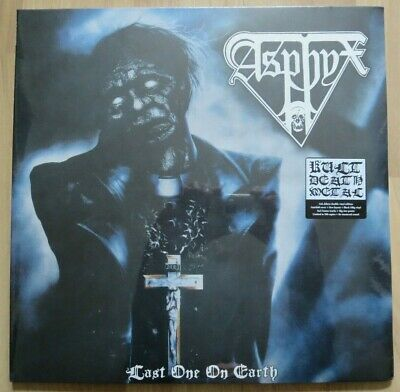 Last One On Earth ALBUM COVER POSTER 12x12 ASPHYX