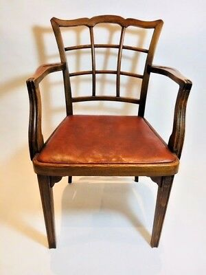 A Rare Set of 5 Thonet A562 lattice back chairs by Josef Hoffman circa 1925