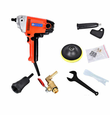 220V Electric Stone Hand Wet Polisher Grinder Variable Speed Water Mill 5000RPM